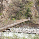 Hängebrücke Inca Jungle Trek