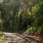 dem Gleis entlang nach Aguas Calientes