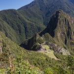 Sicht von Machu Picchu mountain