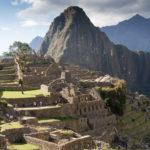 Machu Picchu im Abendlicht