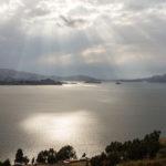 Lichtspiel über Titikakasee