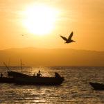 Sonnenuntergang Paracas