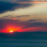 Sonnenuntergang Copacabana