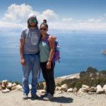 Wir am Titikakasee Bolivien