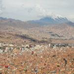 La Paz von el Alto aus