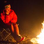gemütliches Lagerfeuer
