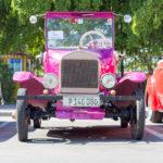 das älteste Auto auf Kubas Strasssen