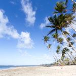Strand in der nähe Baracoas