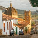 die Hauptkirche des Dorfs