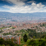 Medellin von oben