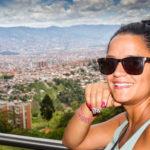 Aussicht über Medellin