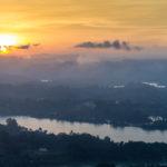 Sonnenuntergang vom el Piedra