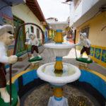 Brunnen in Seitengasse