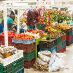 Früchte und Gemüse in allen Farben