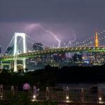 Gewitter über Tokyo