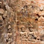 die Khmer waren gute Steinmetzer