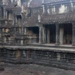 Mönch im Angkor Wat
