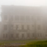 Grand Palace im Nebel