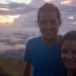 Sonnenaufgang vom mount Batur