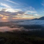 Nebelmeer mount Batur