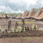 in einem der traditionellen Dörfer