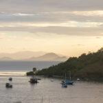 Sonnenuntergang in Labuanbajo