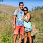 morgendliche Wanderung auf Rinca
