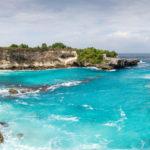 Ceningan island blue lagoon