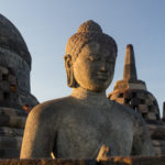 Buddha Borobudur Sonnenaufgang